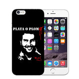 Narcos Pablo Escobar Soft iPhone Covers