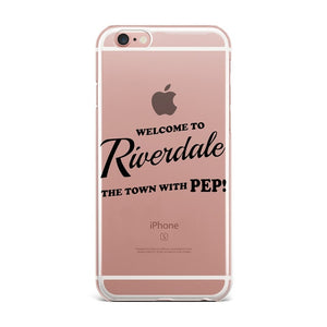 Riverdale Transparent Silicone iPhone Covers