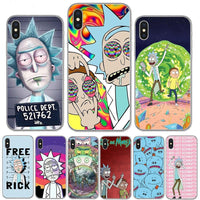 Rick and Morty Silicone iPhone Covers