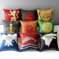 Game of Thrones Decorative Pillow Cases
