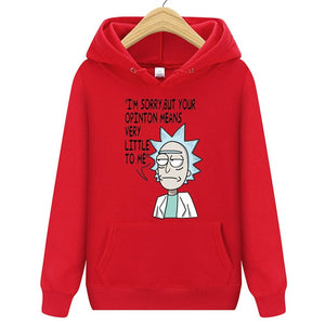 Rick and Morty Unisex Hoodie