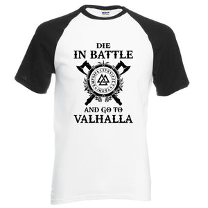 Viking Die In Battle Men's T-Shirts