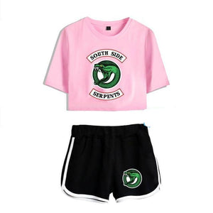 Riverdale Two Piece Women's T-Shirt & Shorts