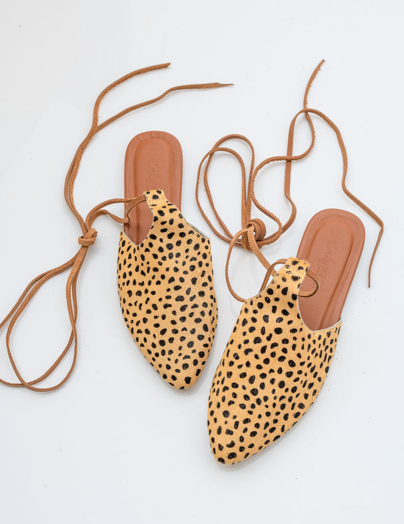 Wild 'Antigua' lace up mule