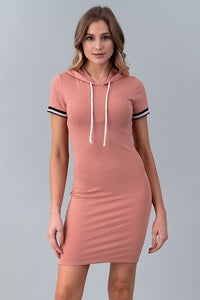 From the Block Hoodie Dress