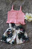Pink and PalmTrees Set