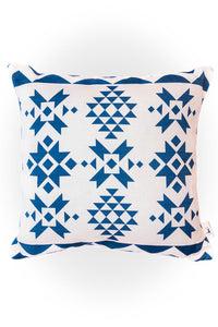 Haus of Meraki Composition #2 Belgian Cotton Linen Cushion 45x45cm