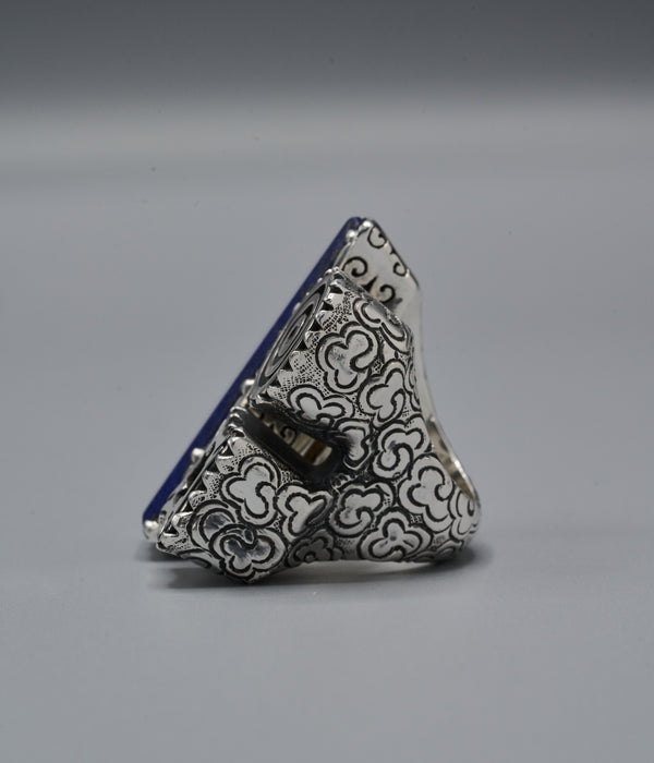 Xochitl Trinity Ring with Fihankra & Adinkrahene