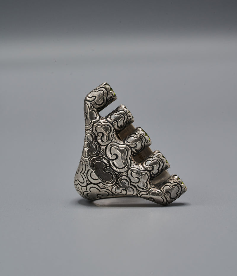 Wangari Trinity Ring with Aya