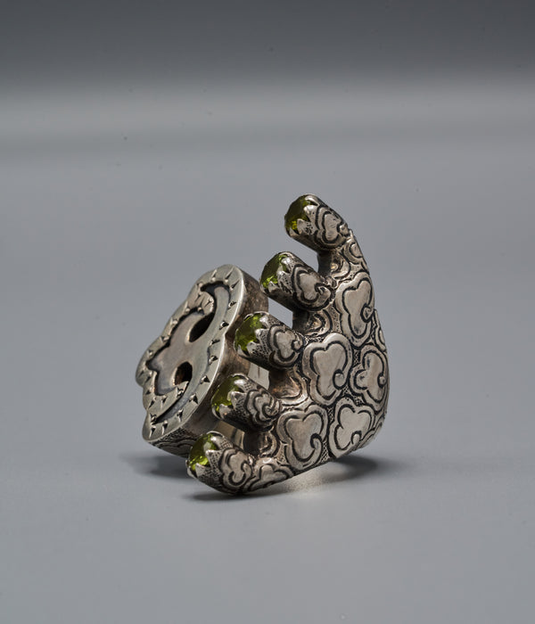Wangari Trinity Ring with Akoko Nan