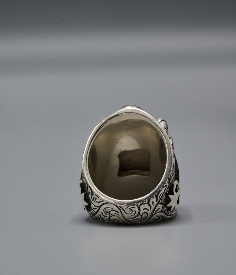 Yasuke Shield Ring with Gyawu Atiko