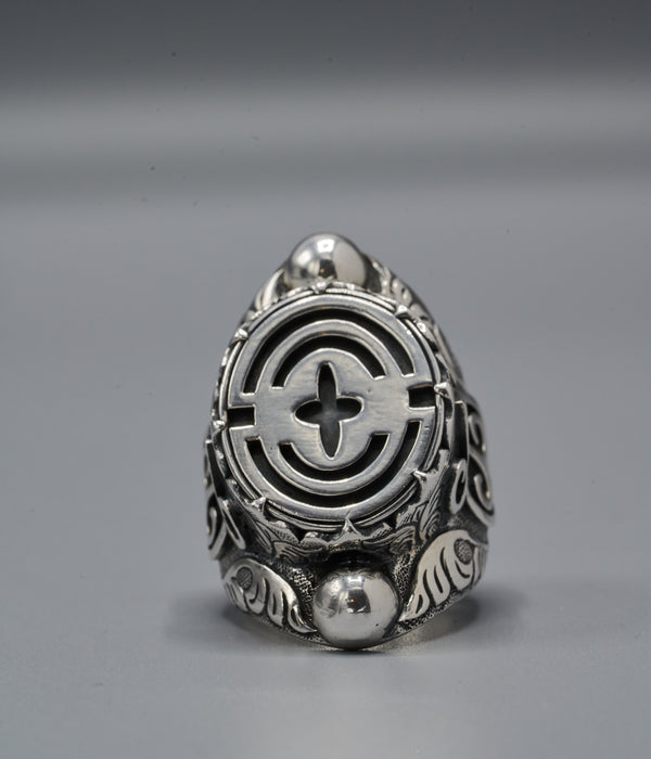 Yasuke Shield Ring with Mmara Krado