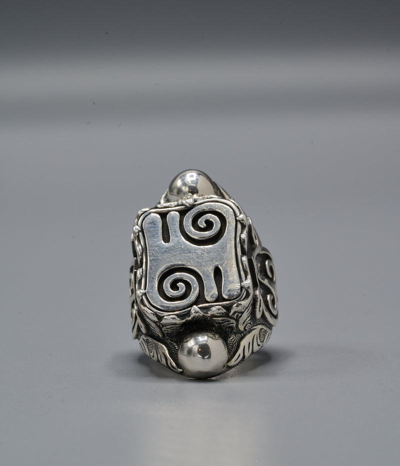 Yasuke Shield Ring with Kwatakye Atiko