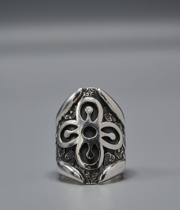 Zulu Shield Ring with Bese Saka