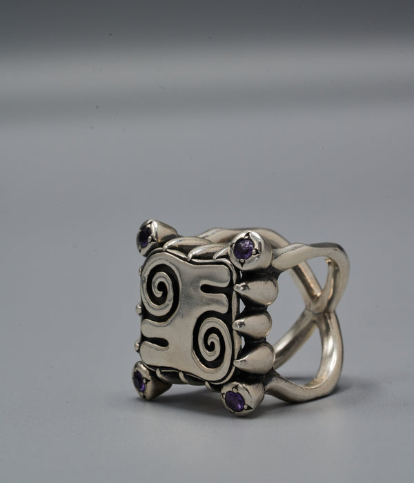 Zero Portal Ring with Kwatakye Atiko