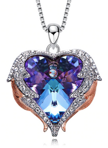 Swarovski Angel Wing Necklace