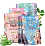 3 Pack Korean Sheet Face Mask Set