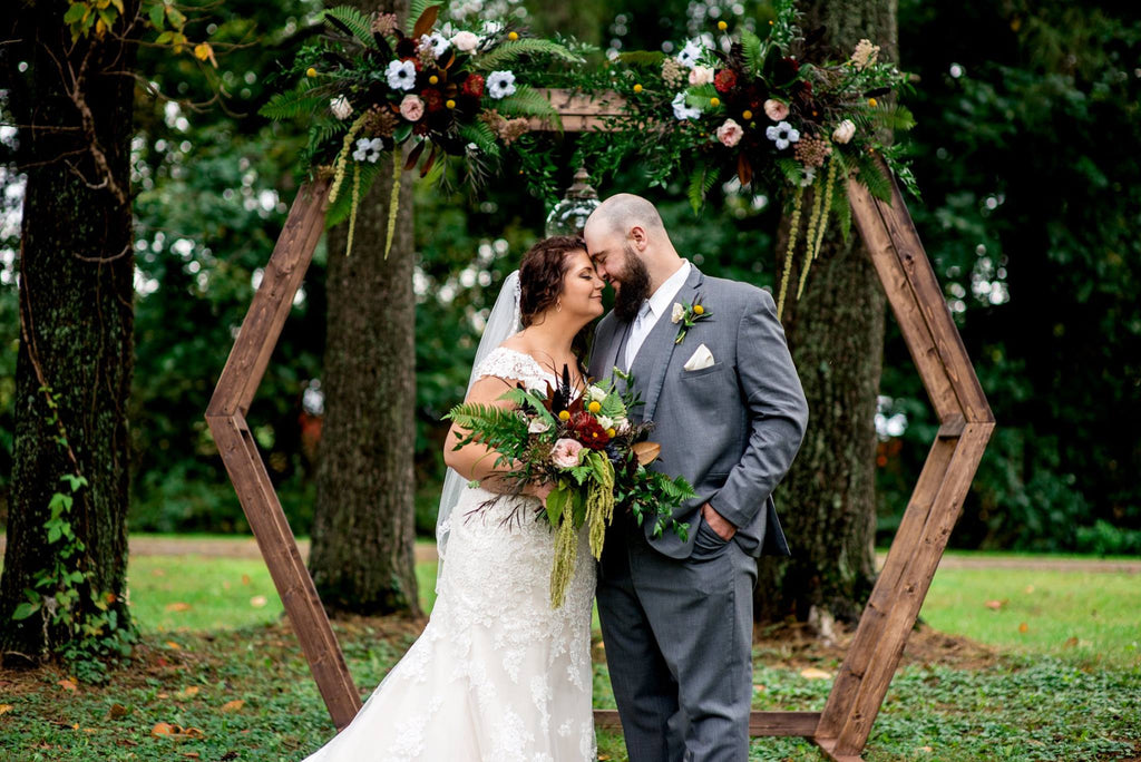 Moody, Vintage, and Romantic Wedding Style: Mr. and Mrs. Hamling