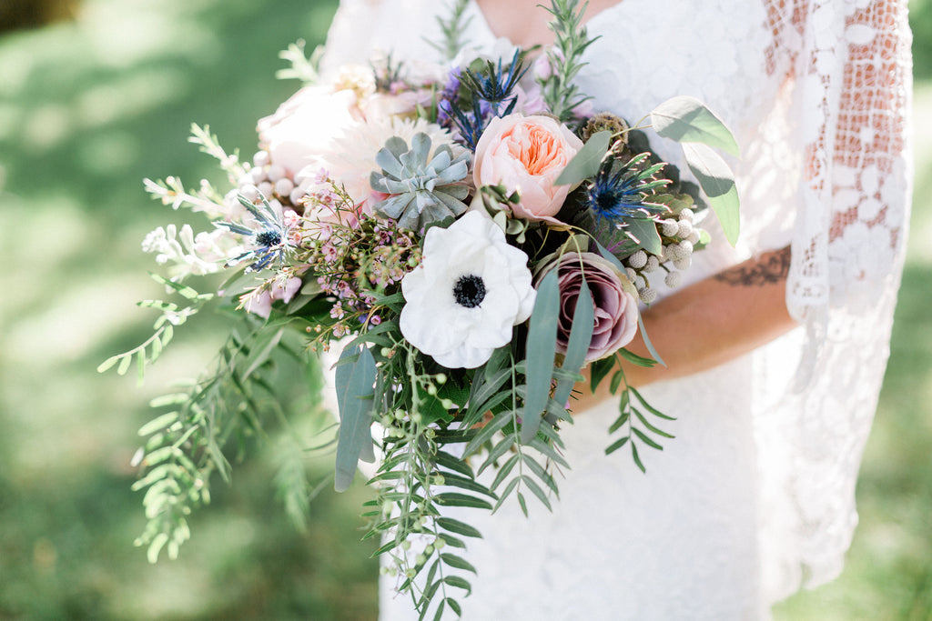 A Bohemian, Whimsical Wedding