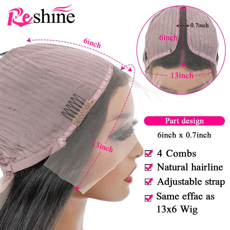 reshine hair t part lace wig