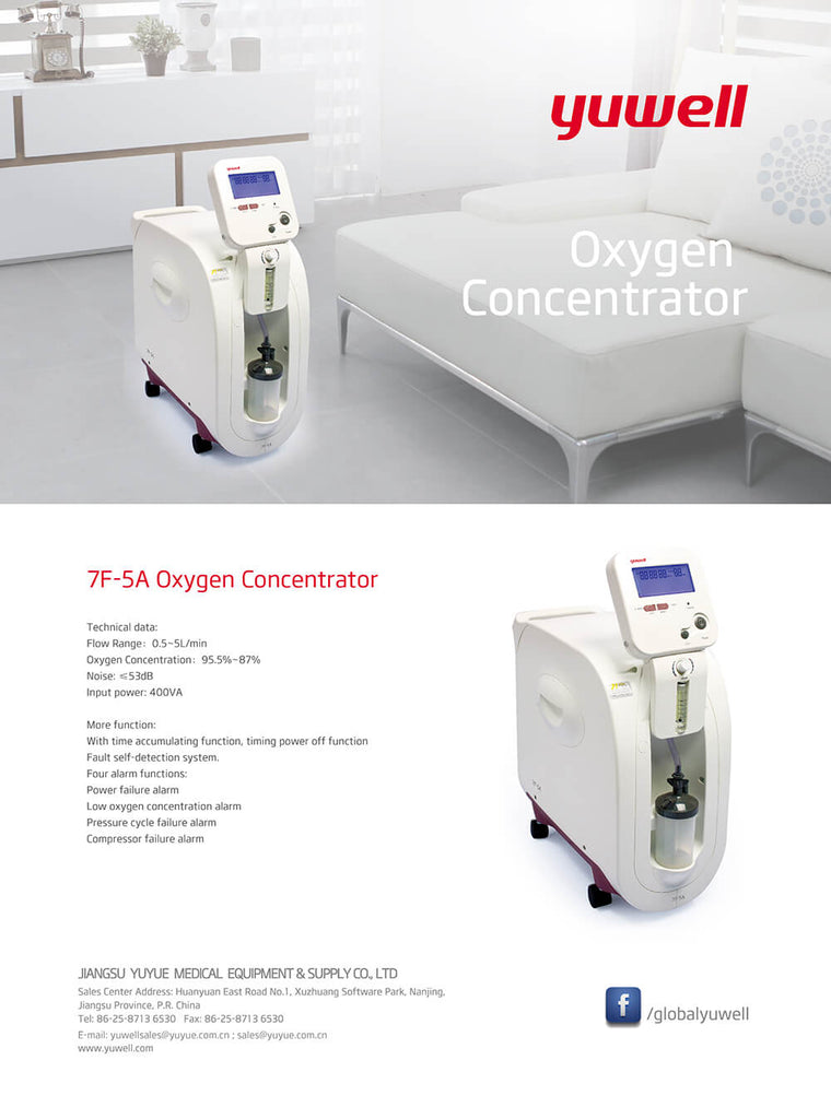 Yuwell 7F-5A Oxygen Concentrator