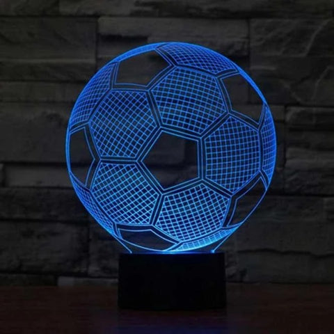 Soccer 3D LED Illusion Lamp