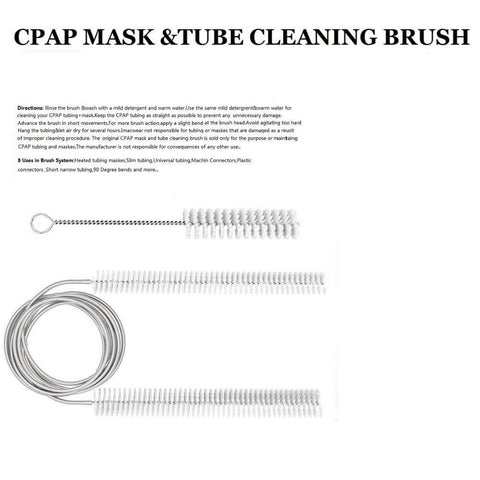 Image of CPAP Flexible Cleaning Brush For Mask & Hose Cleaning Brush kit Medical Equipment