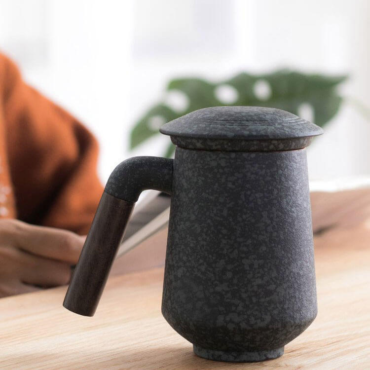James Ceramic Tea Mug