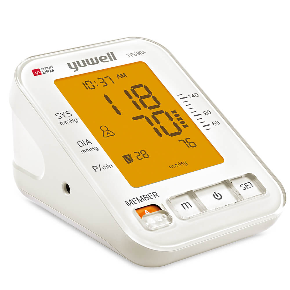 Yuwell YE690A Upper Arm Type Electronic Blood Pressure Monitor