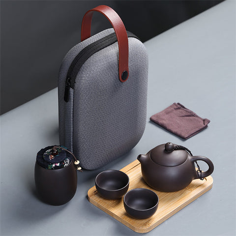 Image of Yixing Teapot Set