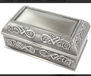 Celtic design Jewelry Box