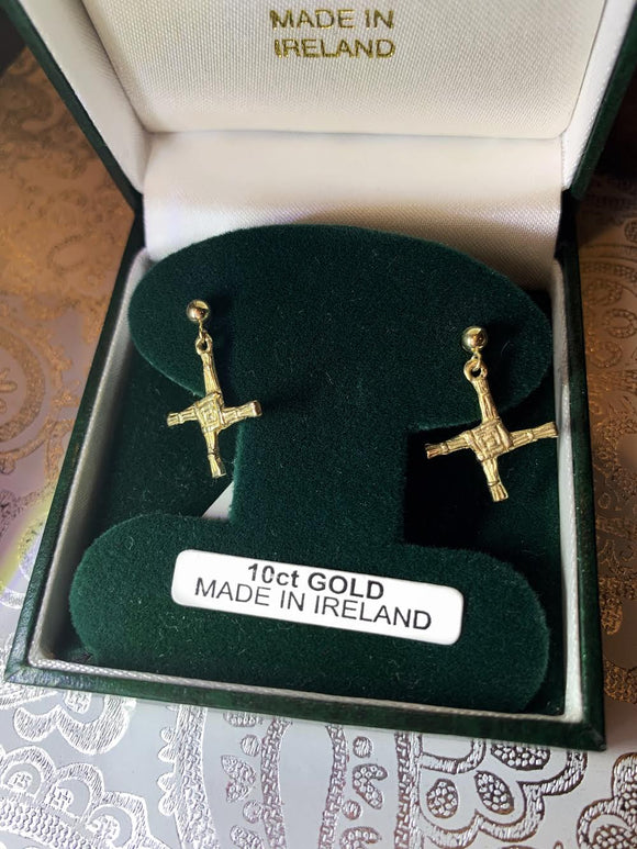 10K Gold St. Brigid Cross