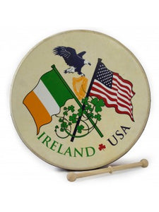 "15"" Waltons Irish USA Flag Rim Design"