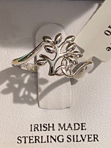Shanore Tree of life sterling silver ring SL110