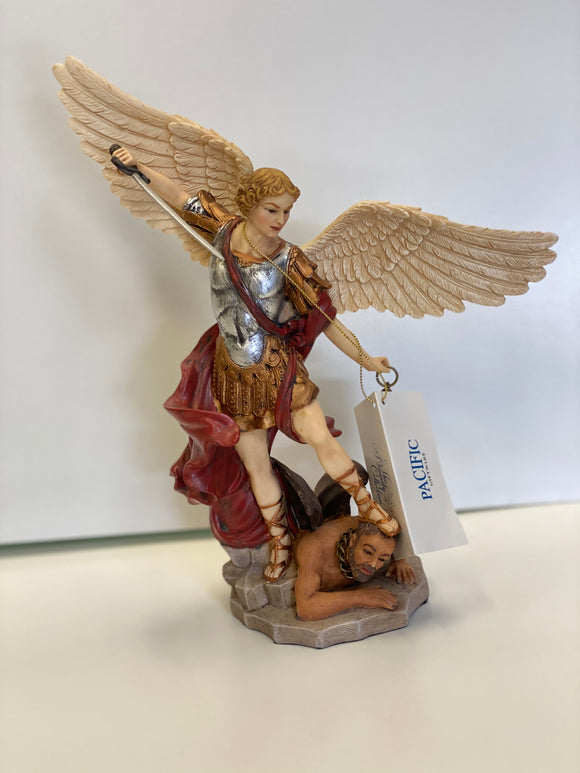 "St. Michael 10""(to top of wing)"