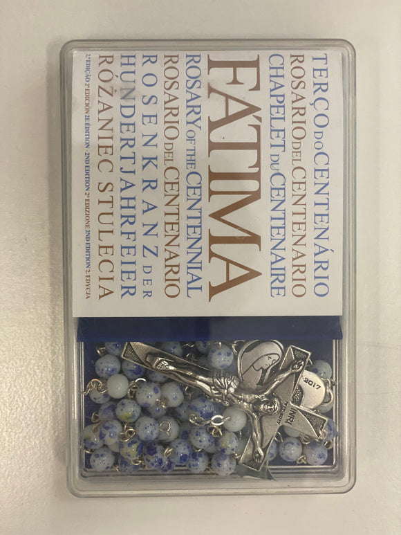 Fatima rosary with prayer book