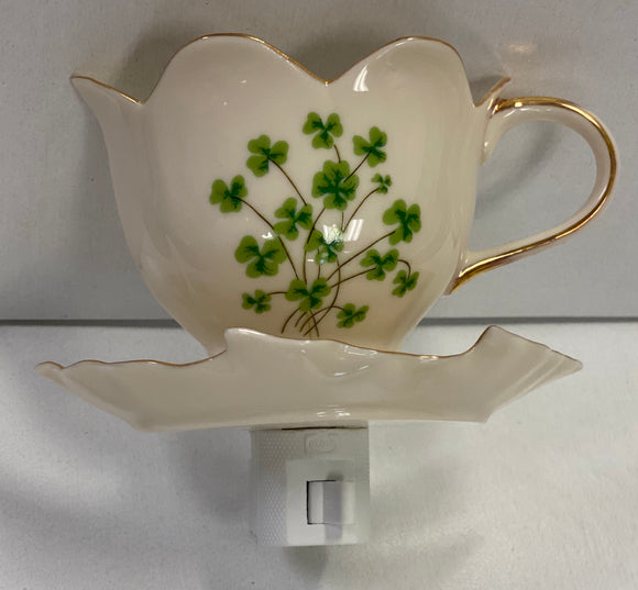 Teacup Porcelin Night Light