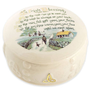 Irish blessing gift box