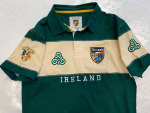 Retro Ireland short sleeve polo shirt