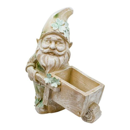 Wheeling for Gold Leprechaun Planter