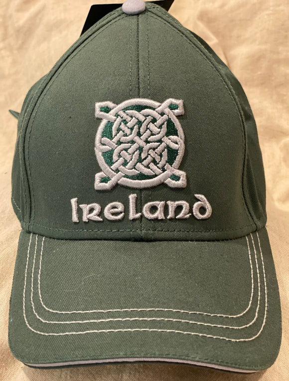 Ireland Celtic knot cap