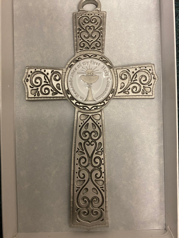 "6"" first communion wall cross"