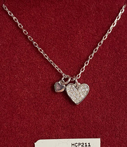Heart charms pendant HCP211