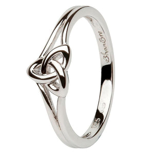 Trinity Knot Sterling Silver Ring SL99