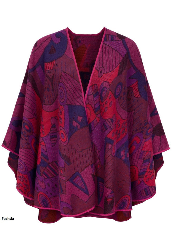 Shawl With 'Picasso' Inspired Motif