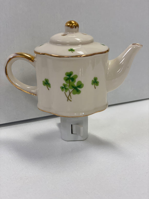 Teapot Porcelin Night Light (oval)
