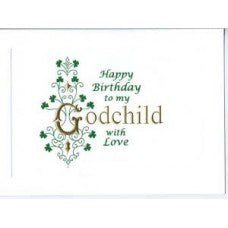 Godchild birthday card