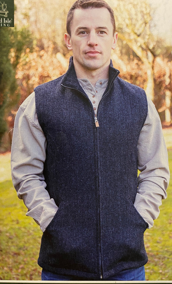 James quilted vests