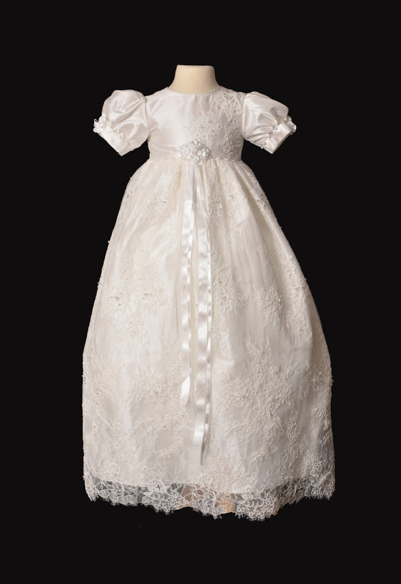 Girls Christening Dress #Rose-c