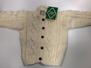 Crana Handknits Children's Sweater - front button